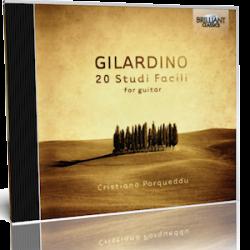Angelo Gilardino 20 Studi Facili - Cristiano Porqueddu, guitar