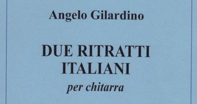 Due ritratti italiani, per chitarra sola