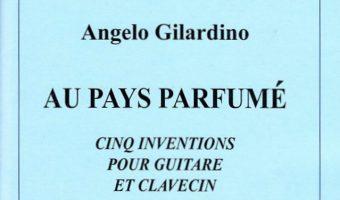 Au pays parfumé, per chitarra e clavicembalo