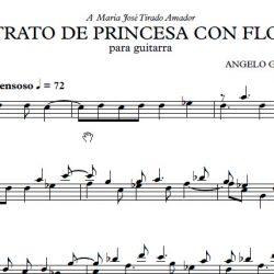 Retrato de princesa - Angelo Gilardino