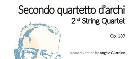 Castelnuovo-Tedesco, Terzo Quartetto d'Archi Op.139